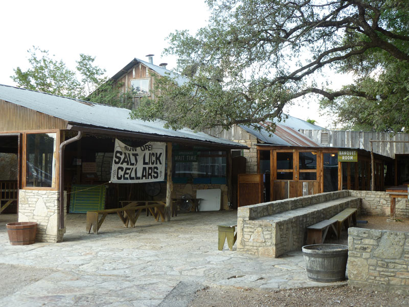 CAME 3TIMES salt lick winery